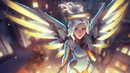 守望先锋:天使百变桌面精选高清壁纸