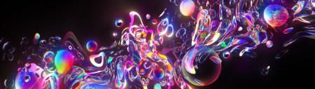 彩色气泡极品游戏桌面精选4K+高清壁纸