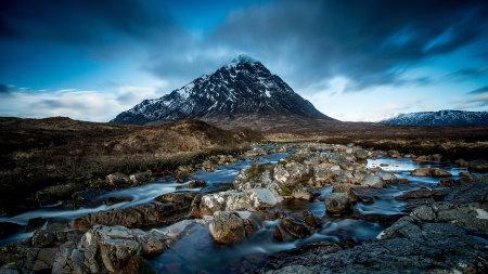 苏格兰高地凄艳谷高端桌面4K+高清壁纸图片