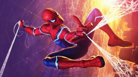 蜘蛛侠漫画极品游戏桌面精选4K+高清壁纸