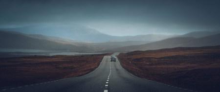 孤独的公路高端桌面4K+高清壁纸图片