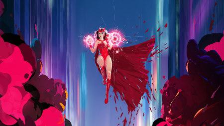 绯红女巫插画极品游戏桌面精选4K+高清壁纸