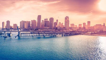 美国迈阿密城市风景高端桌面4K+高清壁纸图片