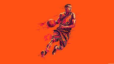 篮球运动员插画极品游戏桌面精选4K+高清壁纸