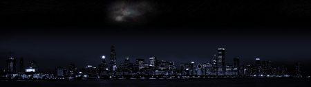 美国芝加哥夜景高端桌面4K+高清壁纸图片