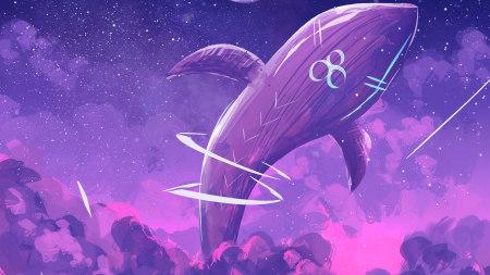鲸鱼插画极品游戏桌面精选4K+高清壁纸