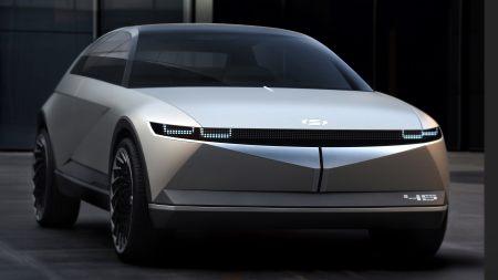 现代45 EV电动概念车高端桌面4K+高清壁纸图片