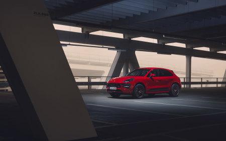 2020款红色保时捷Macan GTS极品壁纸推荐高清壁纸