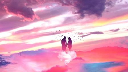 浪漫情侣插画极品游戏桌面精选4K+高清壁纸