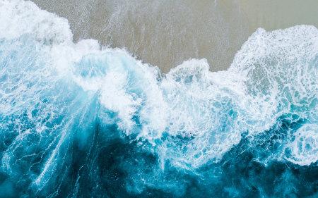 美丽的海浪高端桌面4K+高清壁纸图片