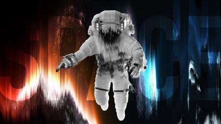 太空中的宇航员高端桌面4K+高清壁纸图片