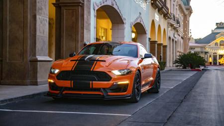 橙色福特野马跑车极品游戏桌面精选4K+高清壁纸