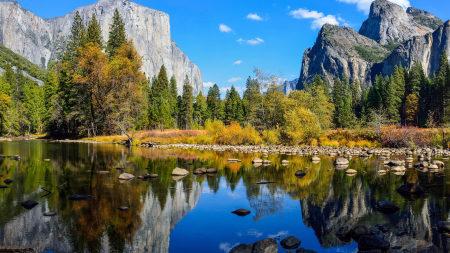 约塞米蒂国家公园秋天风景百变桌面精选高清壁纸