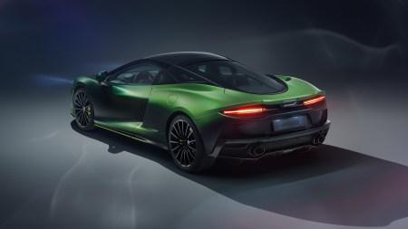 绿色迈凯伦超级跑车百变桌面精选高清壁纸