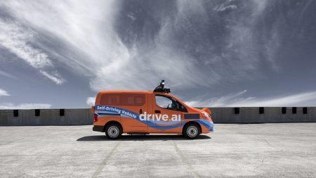 Apple Drive.ai自动驾驶汽车高端桌面4K+高清壁纸图片