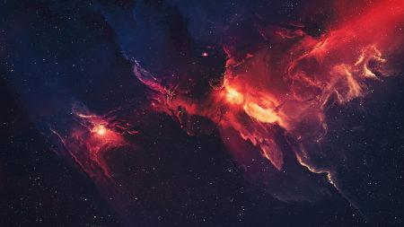 绚丽银河系高端桌面4K+高清壁纸图片