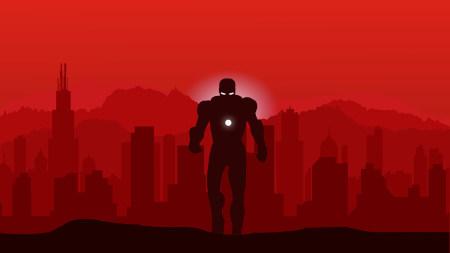 钢铁侠插画极品游戏桌面精选4K+高清壁纸