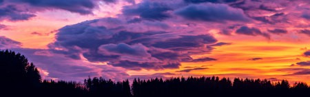美丽的云朵和晚霞高端桌面4K+高清壁纸图片