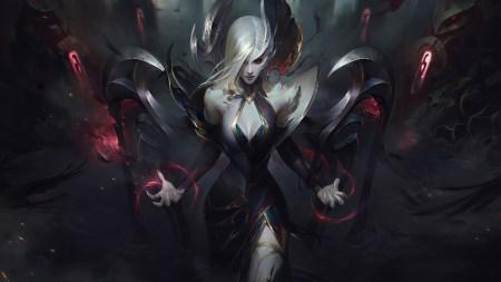 英雄联盟:堕落天使-莫甘娜极品游戏桌面精选4K+高清壁纸