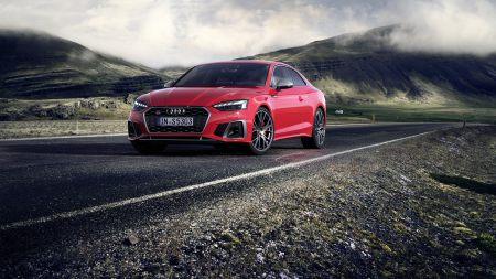 红色奥迪S5 Coupe TDI百变桌面精选高清壁纸