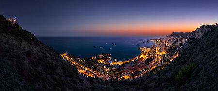 夜晚的城市海岸风景高端桌面4K+高清壁纸图片
