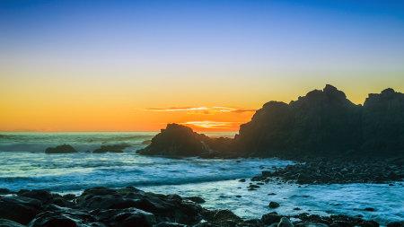 阿拉戈海滩日落高端桌面4K+高清壁纸图片