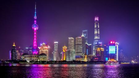 上海夜景百变桌面精选高清壁纸