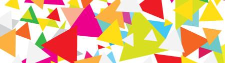 彩色三角形背景极品游戏桌面精选4K+高清壁纸