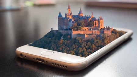 手机上的城堡高端桌面4K+高清壁纸图片
