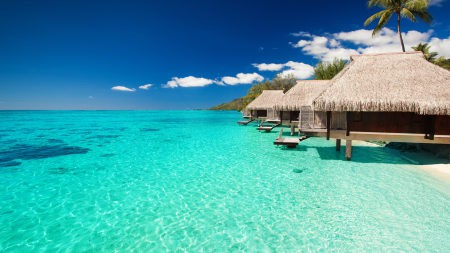 热带马尔代夫海洋风景高端桌面4K+高清壁纸图片