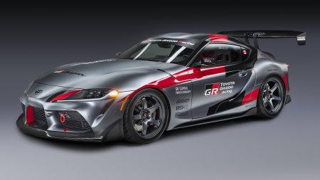 2020款丰田GR Supra Track Concept跑车百变桌面精选高清壁纸
