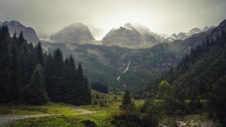 瑞士美丽的山川风景极品游戏桌面精选4K+高清壁纸