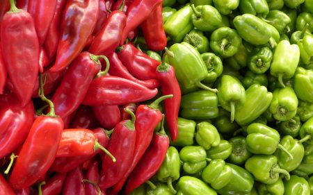红辣椒和青辣椒极品壁纸推荐高清壁纸