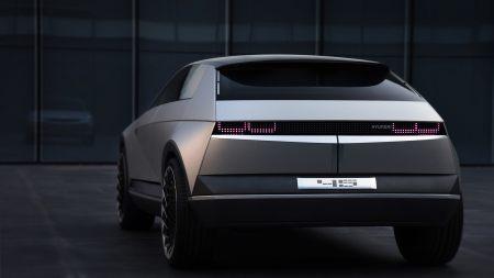 现代45 EV电动概念车百变桌面精选高清壁纸
