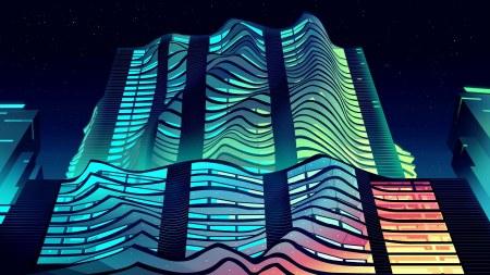 现代建筑插画极品游戏桌面精选4K+高清壁纸
