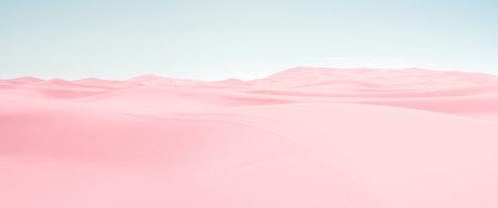 粉红色沙漠高端桌面4K+高清壁纸图片