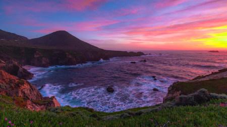 日落的大海风景极品游戏桌面精选4K+高清壁纸
