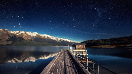 夜晚的星空百变桌面精选高清壁纸