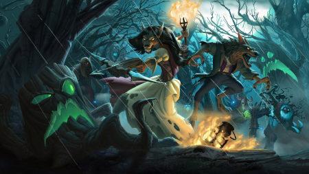 炉石传说:魔兽英雄传高端桌面4K+高清壁纸图片
