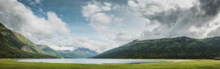 美国安克雷奇伊克卢特纳湖风景极品壁纸推荐高清壁纸