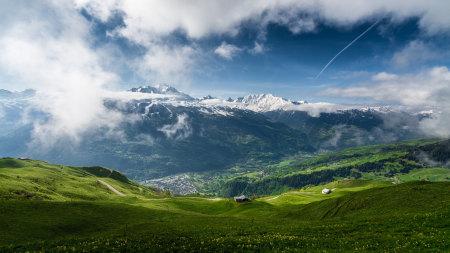 高山 云雾 山谷高端桌面4K+高清壁纸图片