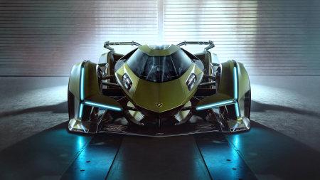 兰博基尼Lambo V12 Vision Gran Turismo概念车百变桌面精选高清壁纸