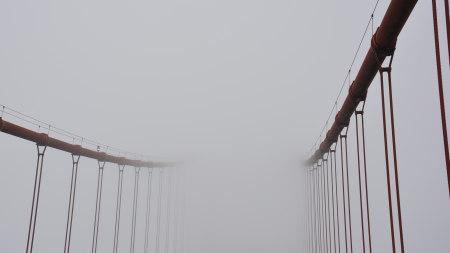 美国金门大桥雾景高端桌面4K+高清壁纸图片