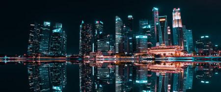美丽的城市夜景高端桌面4K+高清壁纸图片