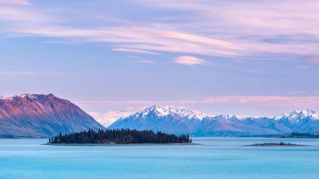 新西兰特卡波湖风景百变桌面精选高清壁纸