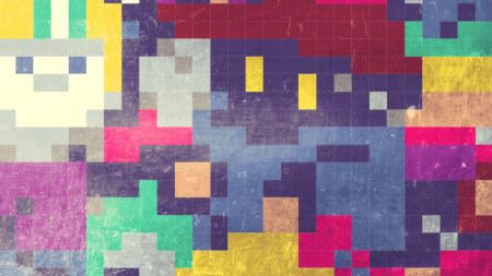 彩色方格背景极品壁纸推荐高清壁纸