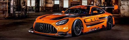 2020款橙色梅赛德斯-AMG GT3极品壁纸推荐高清壁纸