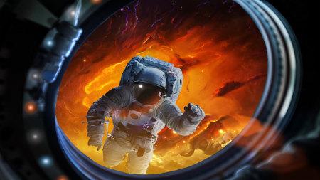 太空宇航员高端桌面4K+高清壁纸图片