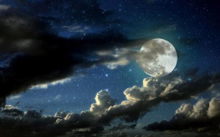 美丽的月空高端桌面4K+高清壁纸图片