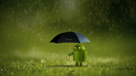 呆萌的安卓Android小机器人高端桌面4K+高清壁纸图片
